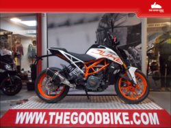 KTM Duke390 2018 white - Roadster