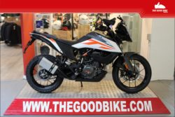 KTM 390 Adventure 2021 white - Tour