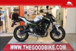 Kawasaki Z650 2020 white - Roadster
