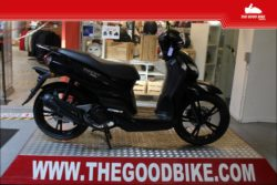 Scooter Peugeot Tweet125 UltraBlack 2021 black - Scooter