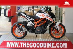 KTM Duke390 2021 white - Roadster