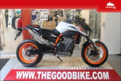 KTM 890DukeR 2021 white - Roadster