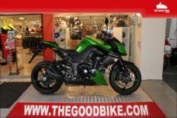Kawasaki Z1000 2015 green - Roadster
