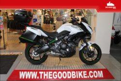Kawasaki Versys650 2018 white - Tour