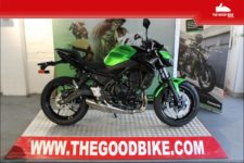 Kawasaki Z650 2020 green - Roadster
