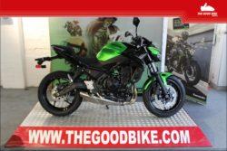 Kawasaki Z650 2020 green - Roadster