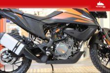 KTM 390 Adventure 2021 orange - Tour