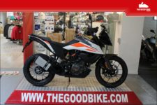 KTM 390 Adventure 2021 white - Tour