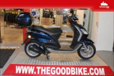 Scooter Piaggio Fly125 2011 blue - Scooter