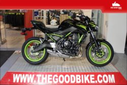 Kawasaki Z650 2021 black/green - Roadster
