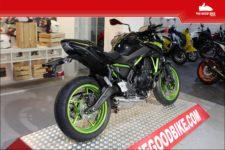 Kawasaki Z650 2021 black/green - Roadster