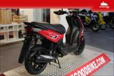 Cyclo Sym Crox45kmh 2021 red/black - Scooter