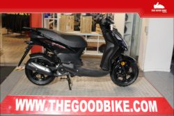 Cyclo Sym OrbitII 25kmh 2021 black - Scooter