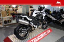 Benelli TRK502X 2021 white - Tour