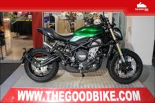 Benelli 752S 2021 green - Roadster