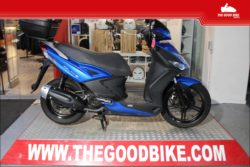 Scooter Kymco Agility125 16 2014 blue - Scooter