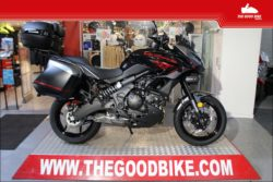 Kawasaki Versys 650 GT Grand Tourer 2021 back-red - Tour