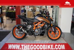 KTM 125Duke 2021 black - Roadster