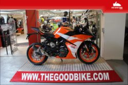 KTM RC390 2021 black - Supersport