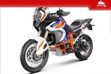 KTM 1290SuperAdventure R 2021 bleu - Tour