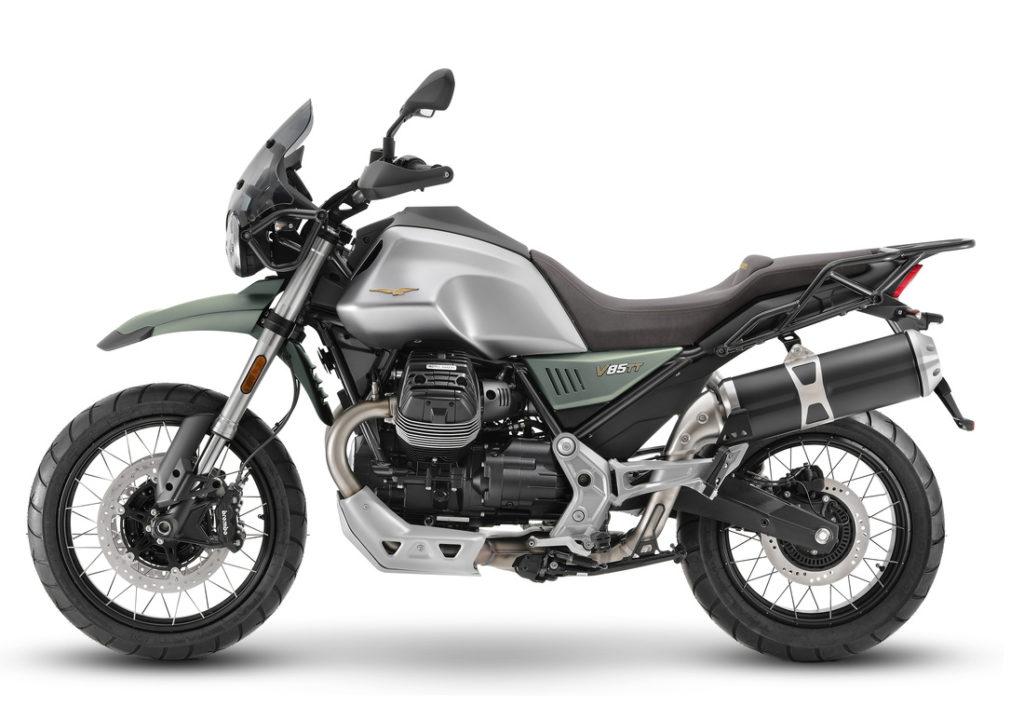MotoGuzzi V85TT 2021 centanario - Tour