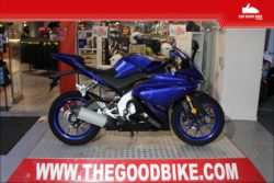 Yamaha YZF125R 2018 blue - Supersport