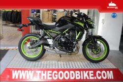 Kawasaki Z650 2021 black/green - Naked