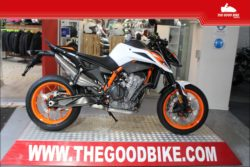 KTM 890DukeR 2021 white - Naked