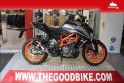 KTM 390Duke 2021 silver - Naked
