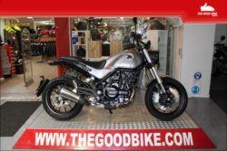 Benelli Leoncino500 2021 silver - Classic