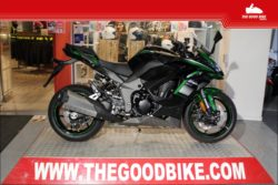 Kawasaki Ninja1000SX 2021 green black - Sport / Sport tour