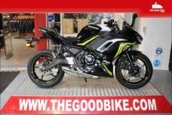 Kawasaki Ninja650 SE 2021 black/white - Sport