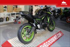Kawasaki Z650 2021 black/green - Naked
