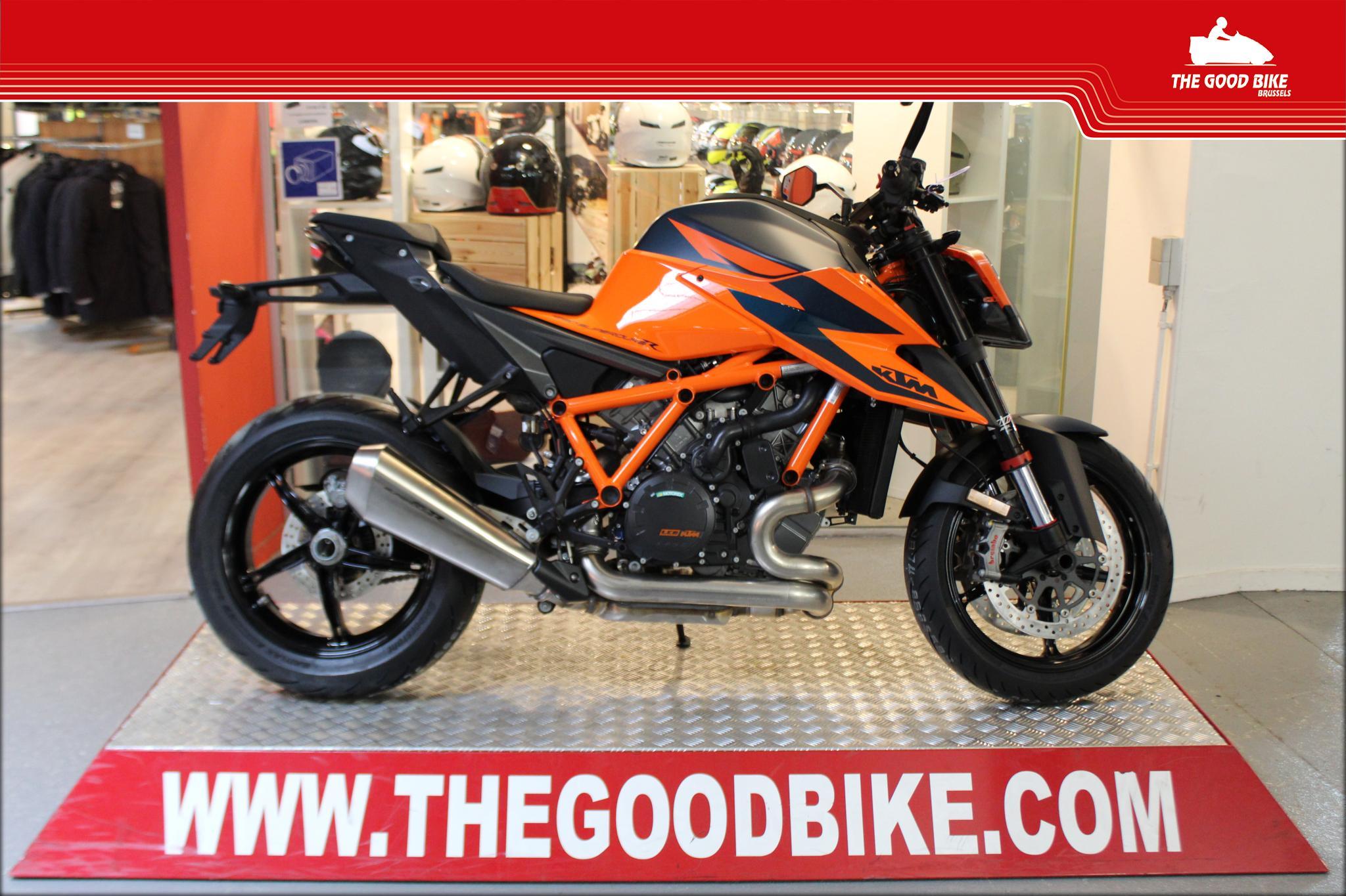 KTM 1290Superduke R 2021 orange - Naked