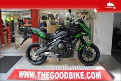 Kawasaki Versys650 2021 green - Tour